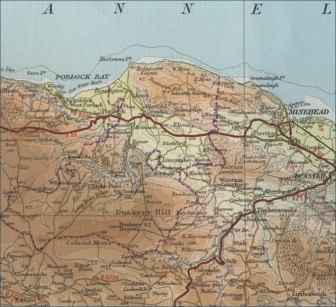 Bristol Channel Map