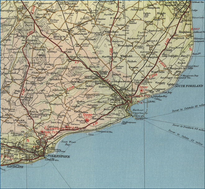 Dover Map