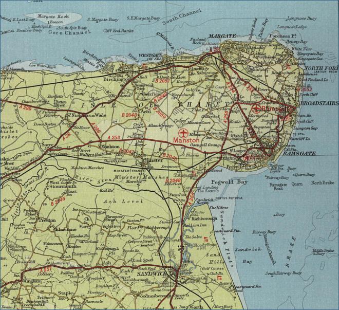 ... the map bel... Kent