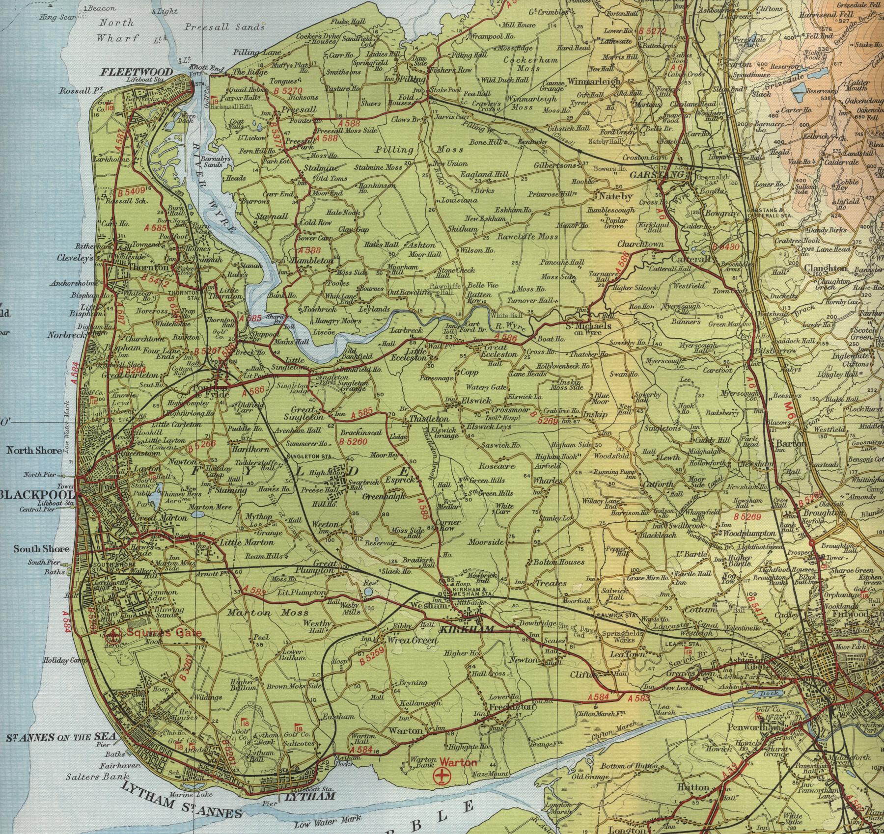 COASTAL MAP INDEX
