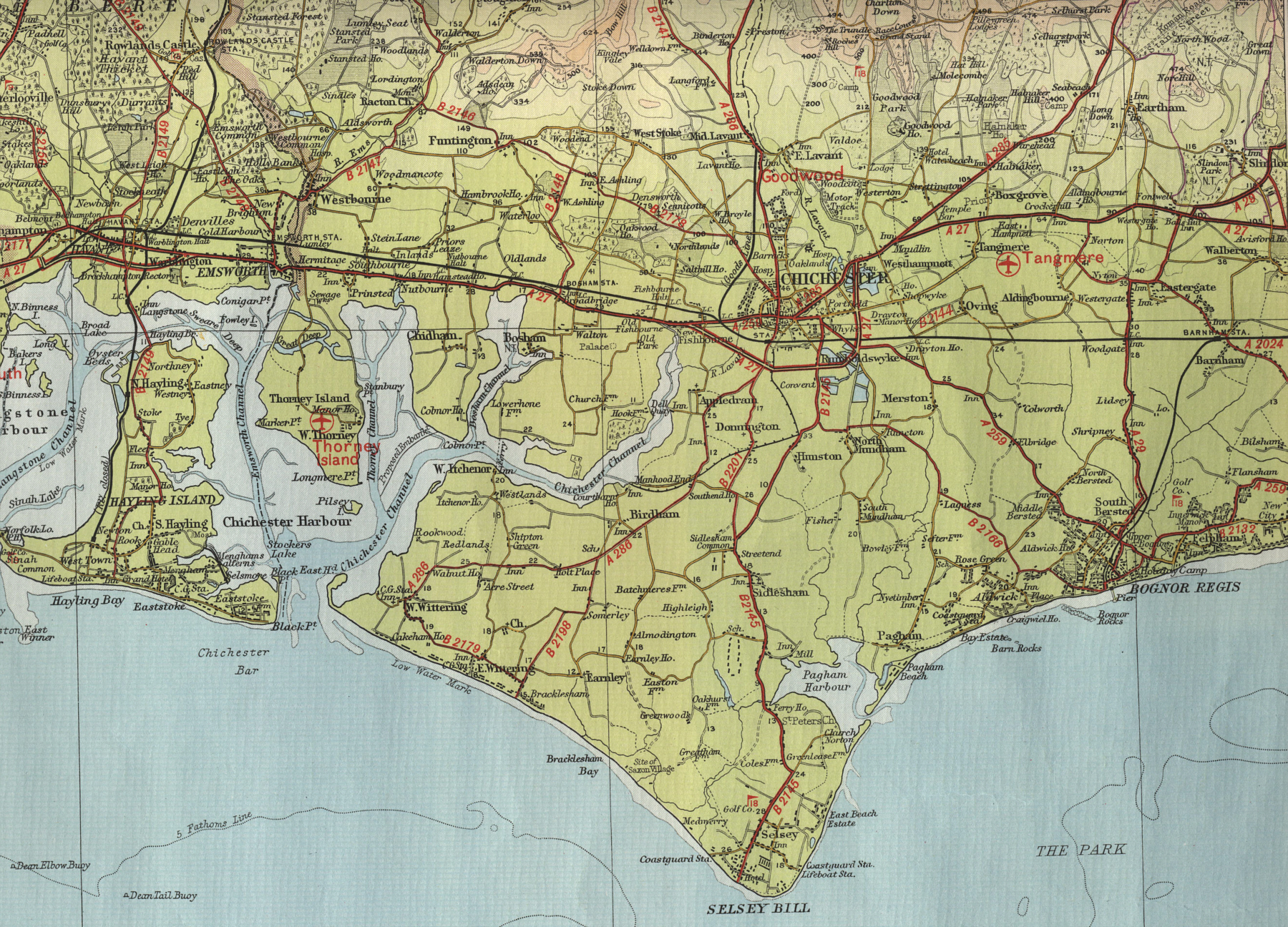 Map Of Chichester Chichester Map