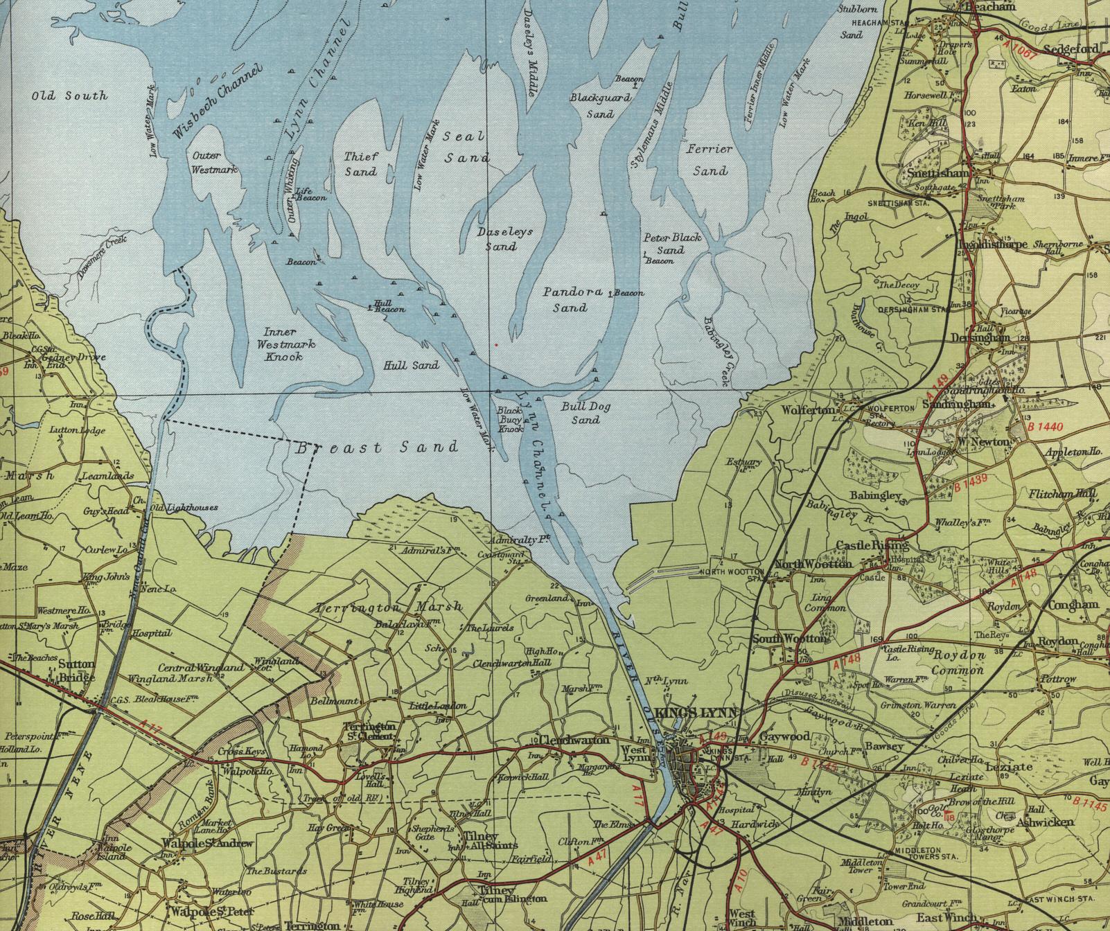 Kings Lynn Map