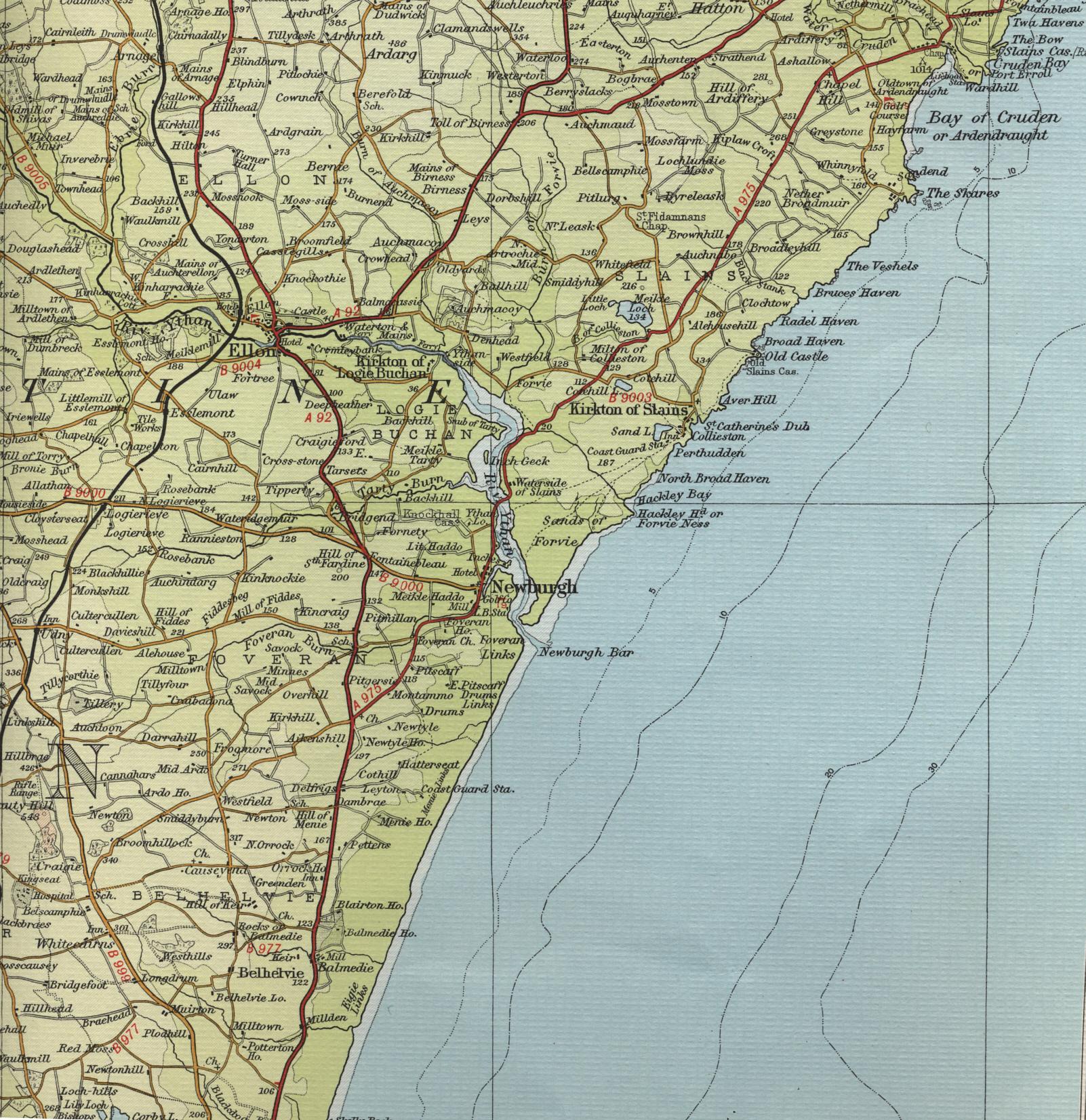 newburgh map