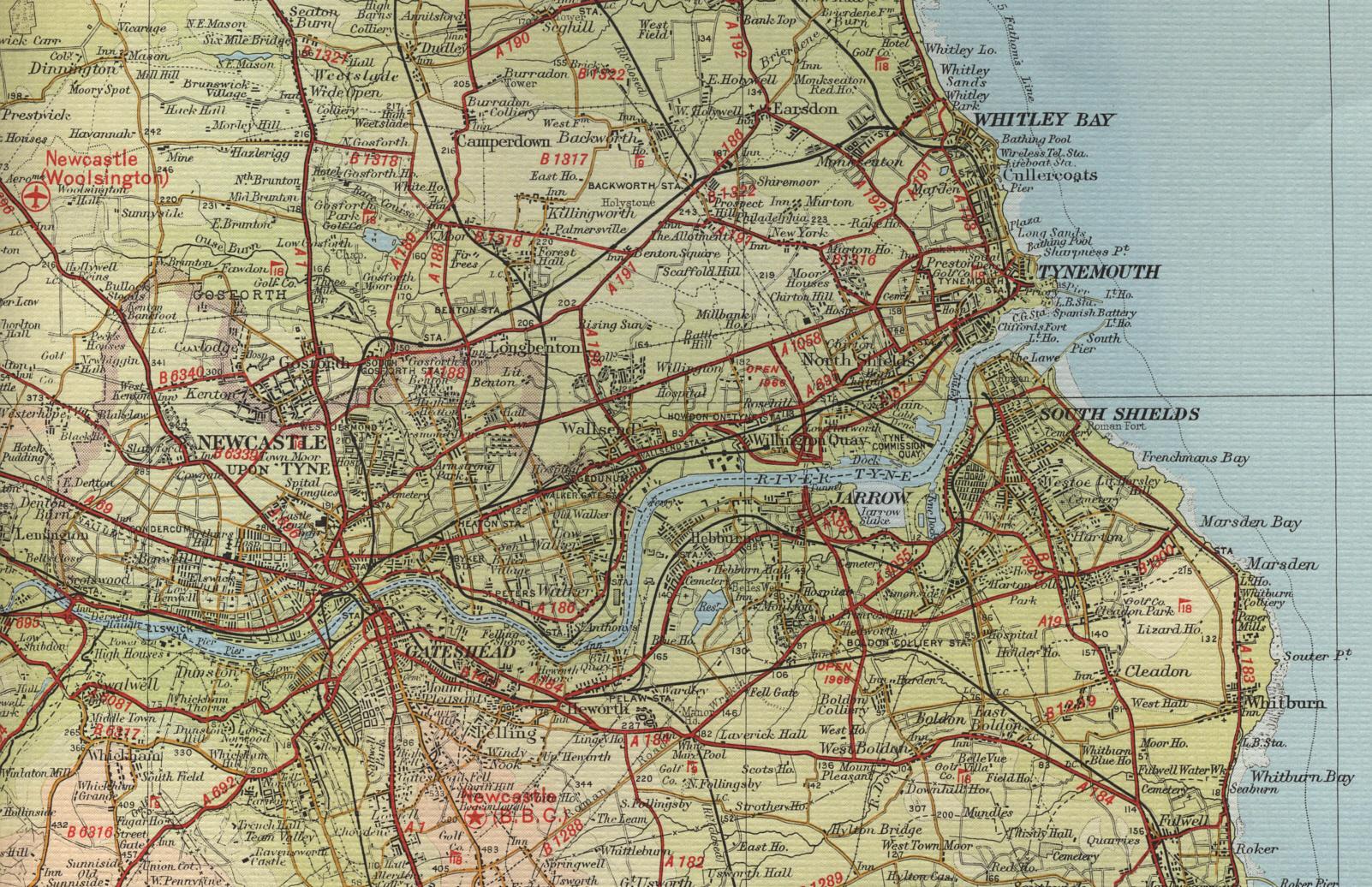 Map Of Newcastle Newcastle Map Map Of Newcastle