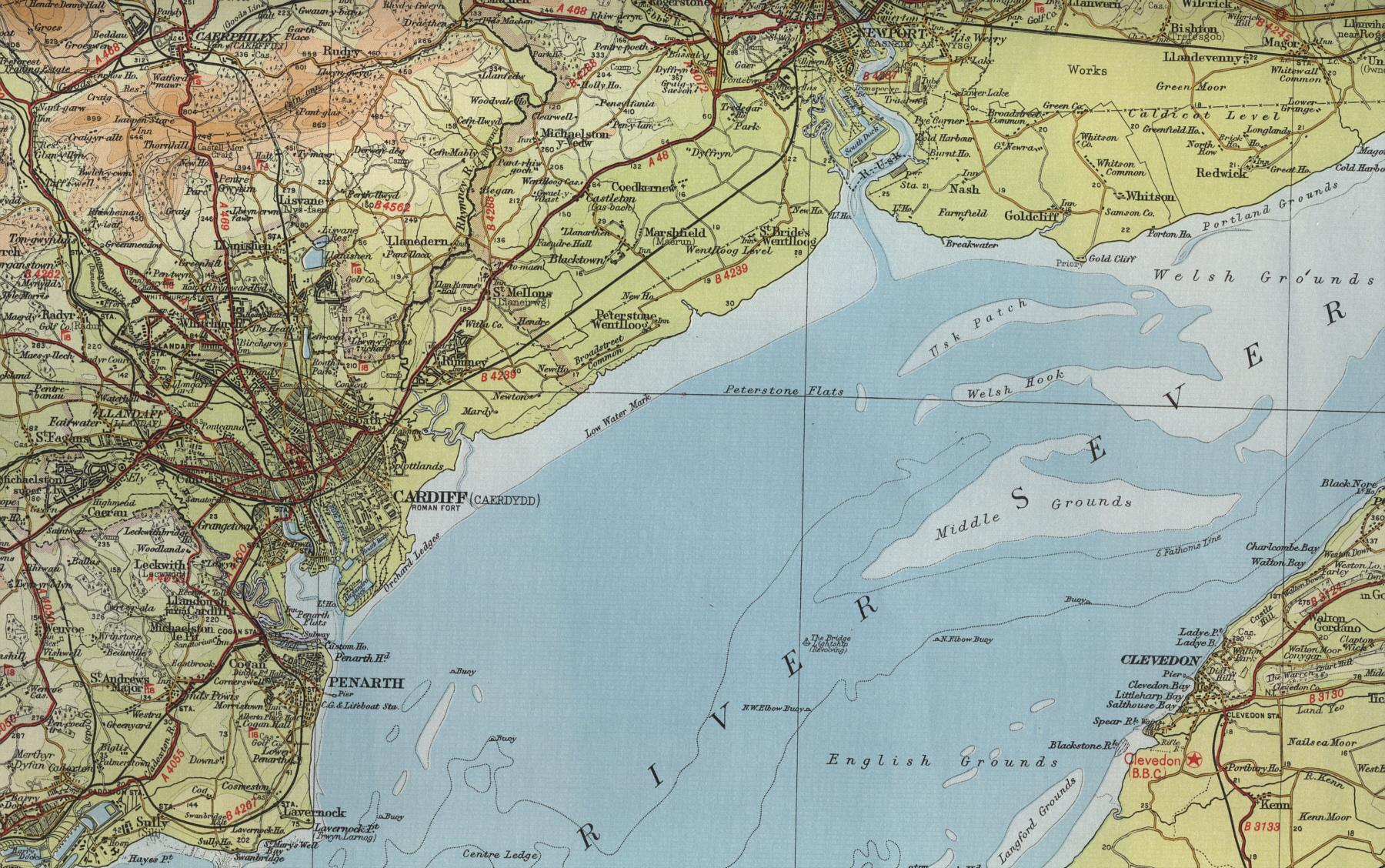 Newport Map