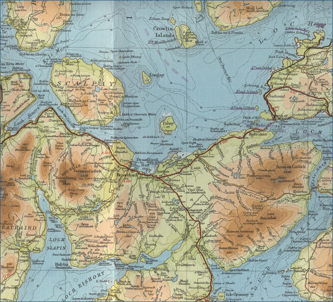 East Skye Map