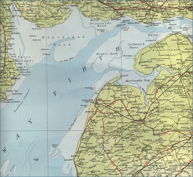 Solway Firth Map